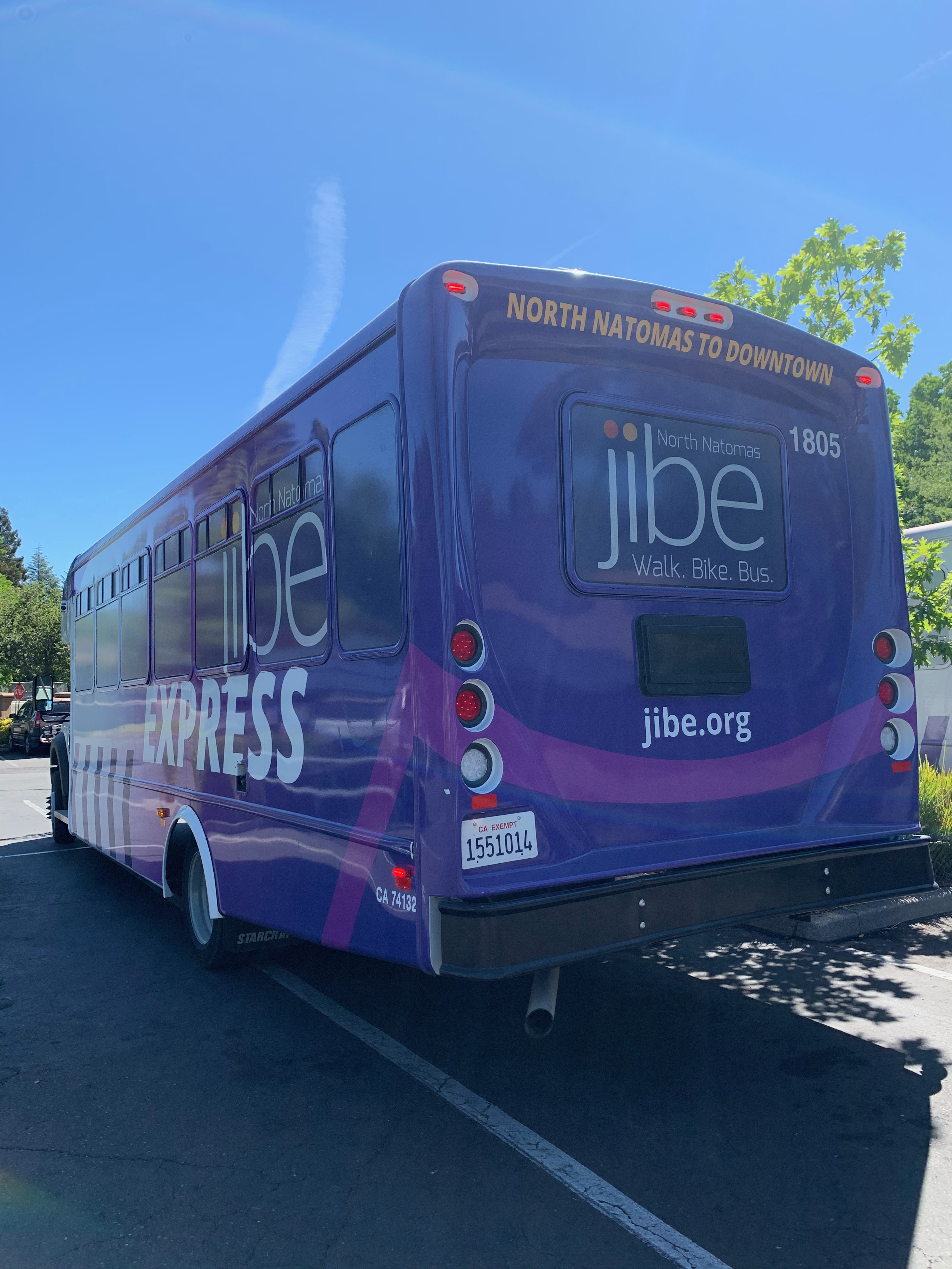 Jibe Express Bus