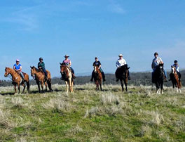 Equestrian riders at Deer Creek Hills.