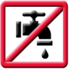 No Running Water icon